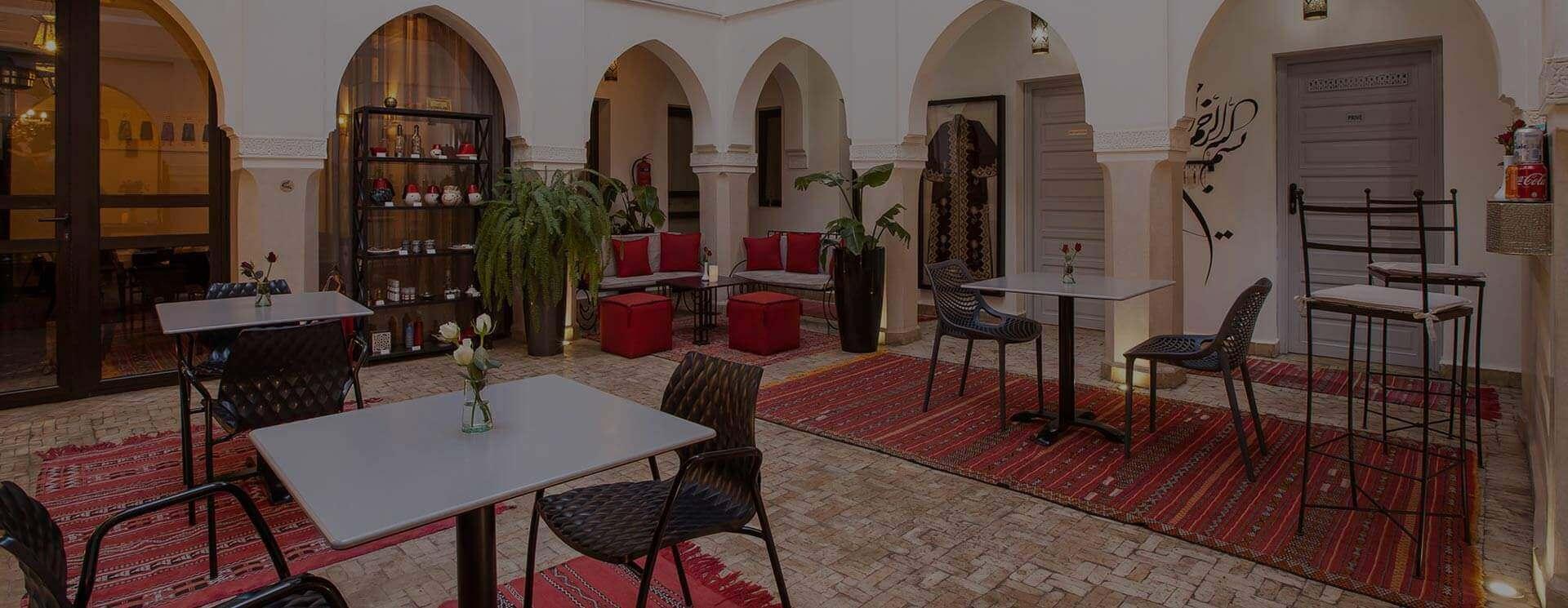 riad de luxe a marrakech